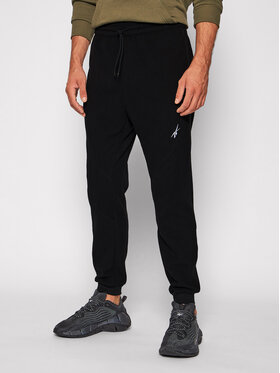 Reebok Reebok Spodnie dresowe Workout Ready GT5751 Czarny Regular Fit