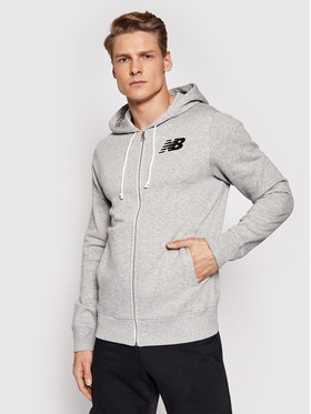 New Balance New Balance Sweatshirt Core MJ83980 Grau Regular Fit