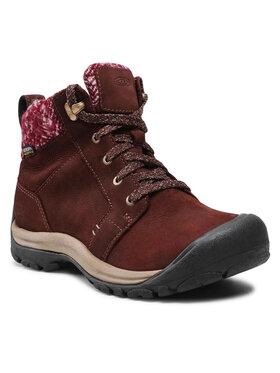 Keen Keen Παπούτσια πεζοπορίας Kaci II Winter Mid Wp 1025451 Καφέ