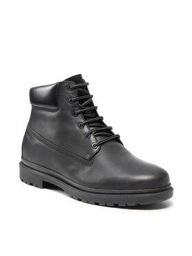 Geox Geox Šnurovacia obuv U Andalo F U16DDF 00045 C9999 Čierna