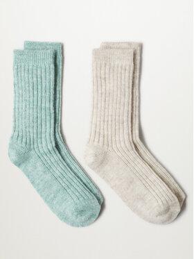 Mango Mango 2 pár hosszú szárú női zokni Judith r. OS 17093776 Szürke