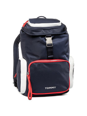 Tommy Hilfiger Tommy Hilfiger Plecak Th Nylon Backpack AW0AW07695 Granatowy