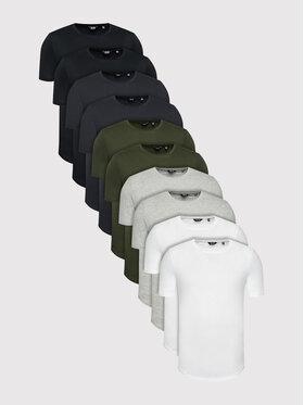 Only & Sons Only & Sons T-Shirts 10er Set Matt 22022051 Bunt Regular Fit