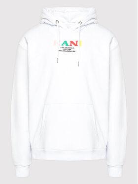 Karl Kani Karl Kani Μπλούζα Retro 6093651 Λευκό Relaxed Fit