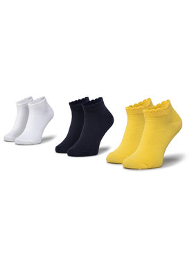 Mayoral Mayoral Комплект 3 чифта къси чорапи детски 10788 Цветен