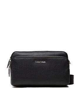 Calvin Klein Calvin Klein Handtasche Ck Must Camera Bag W/Pck K60K608410 Schwarz