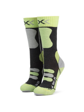 X-Socks X-Socks Ilgos Vaikiškos Kojinės Ski Junior 4.0 XSSS00W19J Žalia