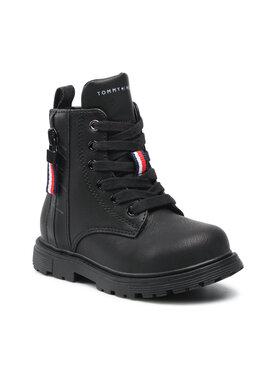 Tommy Hilfiger Tommy Hilfiger Μπότες Lace-Up Bootie T1A5-31188-0289 S Μαύρο