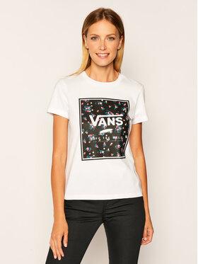 Vans Vans T-Shirt Boxed In Boxy VN0A4SDP Weiß Regular Fit