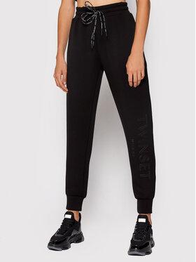 TWINSET TWINSET Spodnie dresowe 212TT2091 Czarny Regular Fit