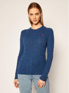 Polo Ralph Lauren Polo Ralph Lauren Sweter Julianna Wool/Cashmere 211525764075 Granatowy Regular Fit