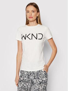 Weekend Max Mara Weekend Max Mara T-shirt Rana 59760419 Blanc Regular Fit