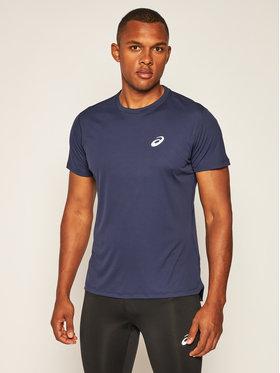 Asics Asics Techniniai marškinėliai Silver Ss 2011A006 Tamsiai mėlyna Regular Fit