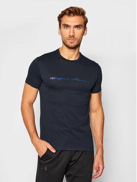 Emporio Armani Underwear Emporio Armani Underwear Tričko 110853 0A724 00020 Tmavomodrá Slim Fit
