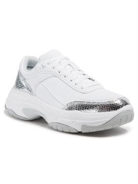 Calvin Klein Jeans Calvin Klein Jeans Sneakersy Chunky Sole Laceup YW0YW00170 Stříbrná