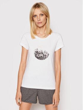 4F 4F T-shirt H4L21-TSD029 Bianco Regular Fit