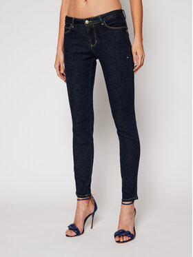 Guess Guess Skinny Fit džínsy Curve X W1RAJ2 D4AK2 Tmavomodrá Skinny Fit