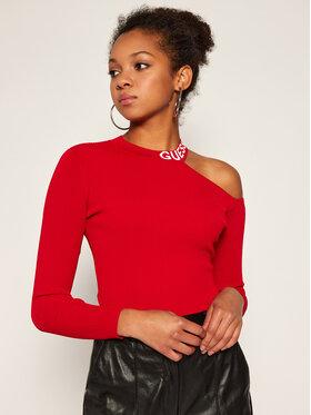 Guess Guess Palaidinė Soraya W0BR0C Z2G50 Raudona Slim Fit