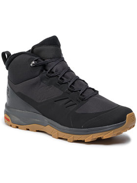 Salomon Salomon Trekingová obuv Outsnap Cswp 409220 28 V0 Čierna