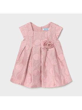 Mayoral Mayoral Sukienka elegancka 1961 Różowy Regular Fit