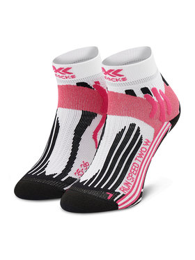 X-Socks X-Socks Calzini lunghi da donna Run Speed Two XSRS16S19W Bianco