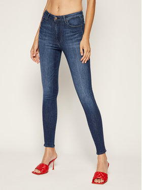 Tommy Jeans Tommy Jeans Jeansy Skinny Fit Tj 2008 DW0DW07482 Granatowy Super Skinny Fit