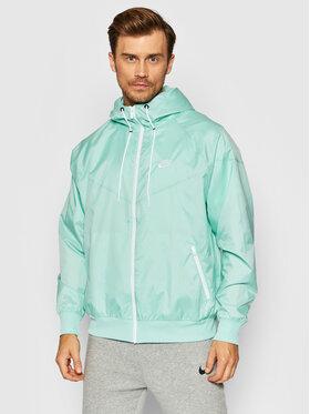 Nike Nike Kurtka do biegania Sportswear Windrunner DA0001 Zielony Standard Fit