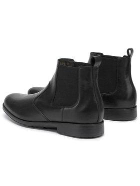 Geox Geox Kotníková obuv s elastickým prvkem U Hilstone W Np Abx DU845TD 00043 C9999 Černá