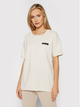 Outhorn Outhorn T-Shirt TSD614 Beżowy Oversize