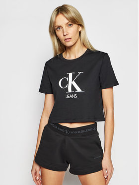 Calvin Klein Jeans Calvin Klein Jeans Тишърт J20J215312 Черен Regular Fit