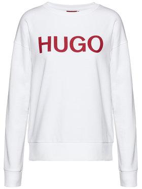 Hugo Hugo Μπλούζα Nakira 50435665 Λευκό Regular Fit