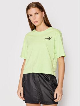 Puma Puma T-shirt Amplifled 583609 Verde Relaxed Fit