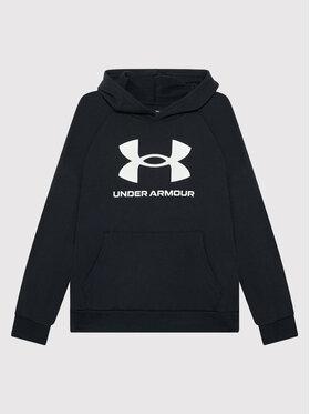 Under Armour Under Armour Felpa Ua Rival Fleece Big Logo 1357585 Nero Loose Fit