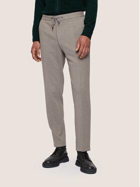 Boss Boss Spodnie materiałowe Banks4-J 50439376 Szary Slim Fit
