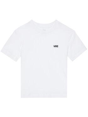 Vans Vans T-shirt Junior V Boxy VN0A4MFL Blanc Regular Fit