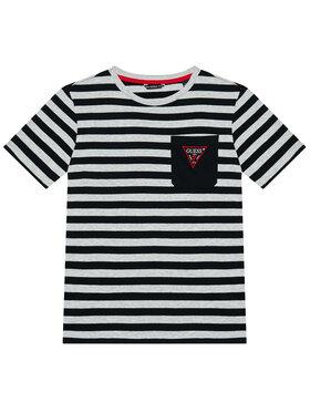 Guess Guess Marškinėliai L1RI11 K9N30 Pilka Regular Fit