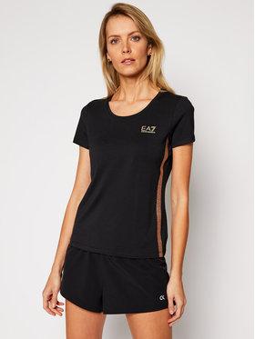 EA7 Emporio Armani EA7 Emporio Armani T-shirt 3KTT51 TJ9VZ 0200 Nero Slim Fit