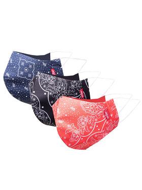 Levi's® Levi's® Sada 3 textilných masiek 87580-0001 Farebná
