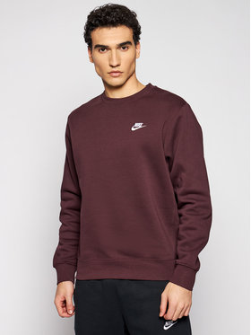 Nike Nike Sweatshirt Nsw Club BV2662 Dunkelrot Standard Fit