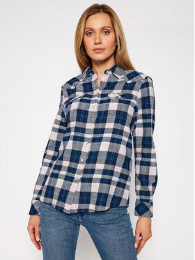 Wrangler Wrangler Camicia Western Check W5N13TXTU Multicolore Slim Fit