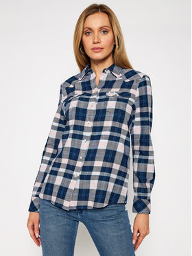 Wrangler Wrangler Риза Western Check W5N13TXTU Цветен Slim Fit