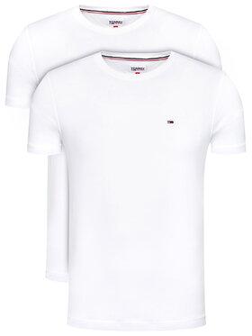 Tommy Jeans Tommy Jeans Set di 2 T-shirt 2Pack Cneck Tees DM0DM10705 Bianco Regular Fit