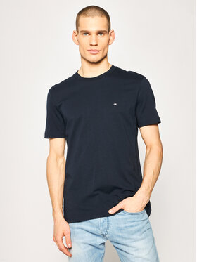 Calvin Klein Calvin Klein T-shirt Logo Embroidery K10K104061 Bleu marine Regular Fit