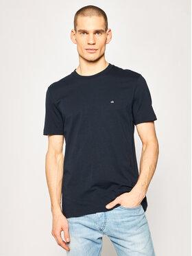 Calvin Klein Calvin Klein T-Shirt Logo Embroidery K10K104061 Granatowy Regular Fit