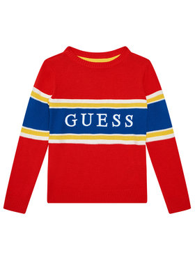 Guess Guess Maglione N1YR00 Z2S40 Rosso Regular Fit