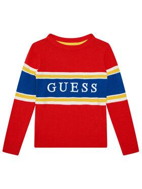 Guess Guess Sweter N1YR00 Z2S40 Czerwony Regular Fit