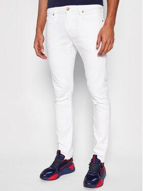 Guess Guess Τζιν Chris M1GA27 D4CK1 Λευκό Skinny Fit