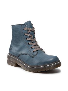 Rieker Rieker Outdoorová obuv 76240-14 Modrá