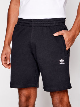 adidas adidas Športové kraťasy Essential FR7977 Čierna Regular Fit