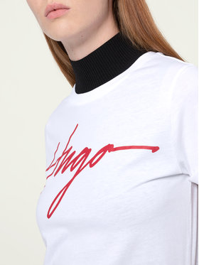 Hugo Hugo T-Shirt The Tee 1 50431177 Weiß Slim Fit